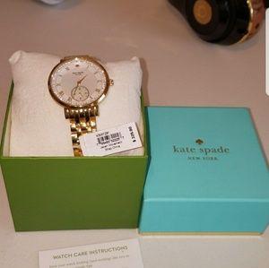 Kate Spade Gold Monterey KSW1291 Watch